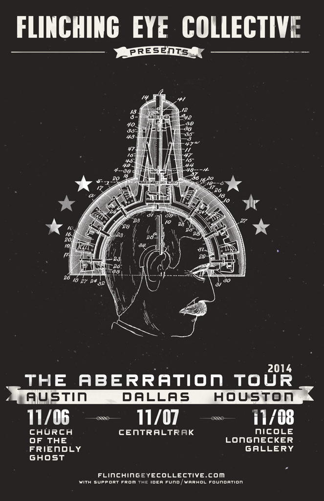 The Aberration Tour | The Flinching Eye Collective | Round 6 (2014) | The Idea Fund